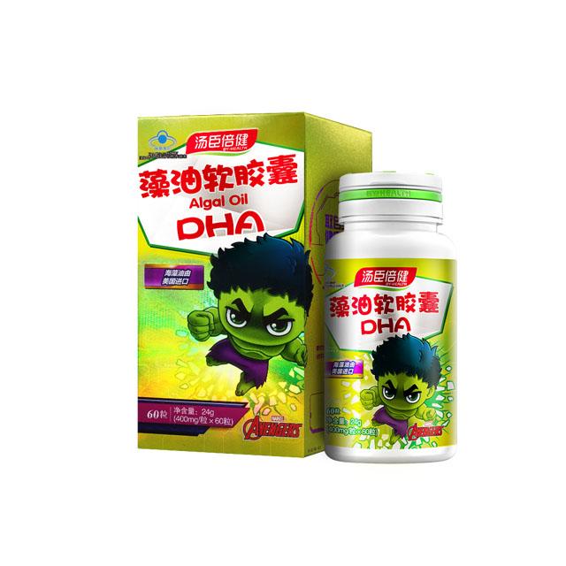 湯臣倍健藻油軟膠囊-迪士尼漫威裝(60粒)
